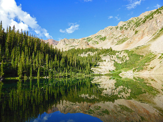 American Lake (11,365') in the Maroon Bells - Snowmass Wilderness